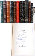 The Easton Press. Collection of Signed Books By The Author