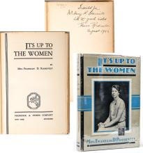 Roosevelt, Mrs. Franklin D. (Eleanor). It's Up To The Women