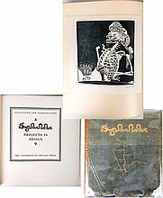 [Szukalski, Stanislaus]. SZUKALSKI: Projects in Design, Limited Edition with Signed Woodcut
