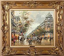 Blanchard, Antoine. Les Grands Boulevards