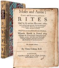 Godwyn, Thomas. Moses and Aaron: Civil and Ecclesiastical Rites, Used By the Ancient Hebrews; Observed, and at Large Ope