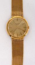 Gent's Patek Philippe 18K Yellow Gold Calatrava Wristwatch