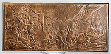 Bronze Wall Plaque With Woodland Scene