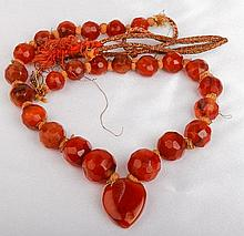 Turkish Carnelian Necklace