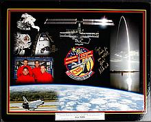 2002 STS-113 Flown Crew Patch