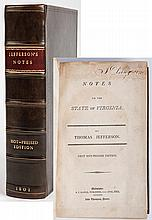 [Jefferson, Thomas] Notes on the State of Virginia