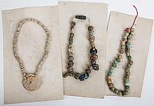 Ancient Egyptian Bead Necklaces