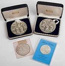 1960s-70s Space Themed Medallion Collection