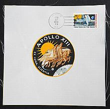 1969-70 Apollo 11, Apollo 12 & Apollo 13 Beta Cloth Patches