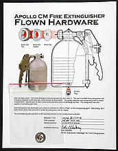 1973-74 Skylab 4 FLOWN Apollo CM Fire Extinguisher Burst Disk