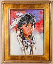 Danson. Apache Child