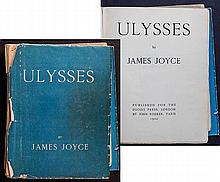 [Joyce, James] Ulysses, Egoist Press, London and John Rodker, Paris, 1922