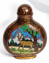Cloisonnée Snuff Bottle