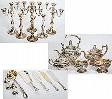 Magnificent Sterling Silver Service Set, 'Chantilly' by Gorham