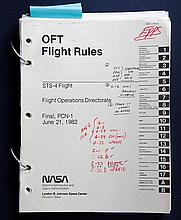 1982 STS-4 Flight Rules Manual