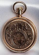 Elgin 14K Yellow Gold Hunting Case Pocket Watch