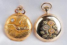 Collection of Antique Yellow Gold Pocket Watches
