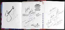 1970-76 Russian Program Signed Books (x2)