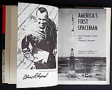 1962 Mercury Program Alan Shepard Signed