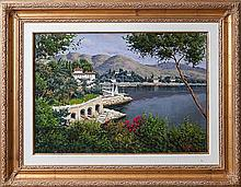 Sannino, Antonio. Villa at Lake Como