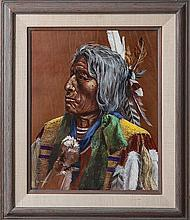 Patton, E. L. Chief Slow Bull, Oglala Sioux Indian