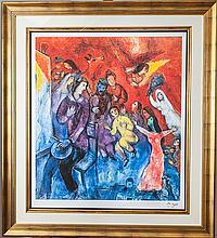 Chagall, Marc. Apparition of the Artist's Family