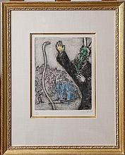 Chagall, Marc. Moses and the Serpent