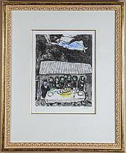 Chagall, Marc. The Passover Meal