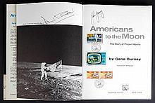 1971 Apollo Era John Young & Alan Bean Signed Book