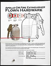 1973 Skylab 3 FLOWN Apollo CM Fire Extinguisher Fill Port Plug