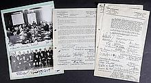 Important Israeli Signed Photos and Document