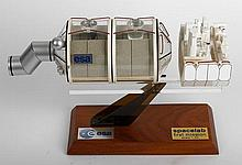 ESA Spacelab Scale Model