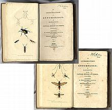 [Entomology] Collection of Seven Books, 18th and 19th Century