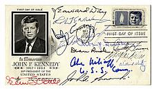 [Kennedy, John F.] First Day Cover Signed By His Cabinet