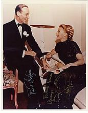 Fred Astaire and Ginger Rogers Signed Color Portrait