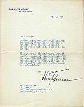 Truman, Harry S