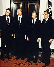 Four Presidents: Nixon, Ford, Carter, & Reagan