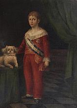 Retrato del infante don Francisco de Paula Antonio, hijo de Carlos IV