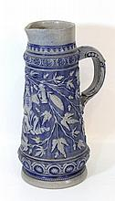 Jewish ceramic beer jug
