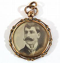 C. 1900 9k gold locket