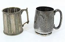 Lot of two  beer mugs