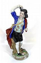 Porcelain figurine of a nobleman