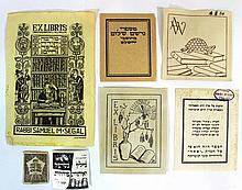 Lot of ex-libris