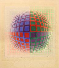 Victor Vasarely (French, 1906-1997)
