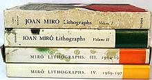 Joan Miró. Lithographs