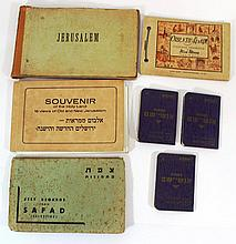 Lot of memorabilia albums from Eretz Israel