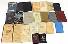 Lot of European documents