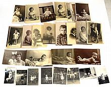 Lot of photographs of children, Eretz-Israel