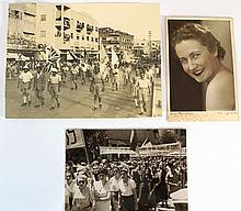 Lot of three photographs of Eretz Israel taken by the Meir sisters