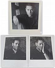 Lot of three photographs of Yehuda Poliker